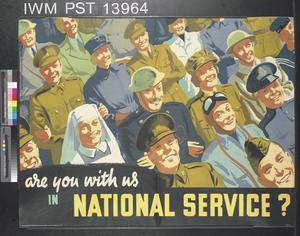 Are You with Us in National Service?