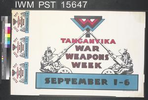 Tanganyika War Weapons Week