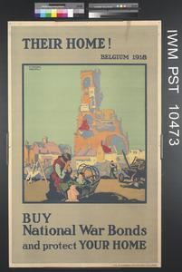 Their Home - Belgium 1918