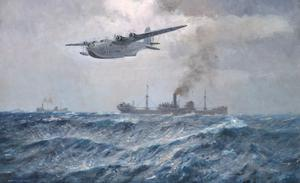 A Sunderland Flying-boat on Patrol