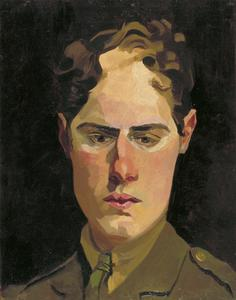 Self Portrait in Uniform