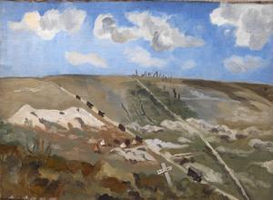 Albert - Bapaume Road, 1918