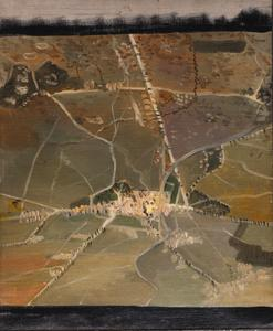 Bapaume Seen From an Aeroplane From 10,000 Feet, 1918