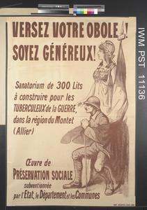 Versez Votre Obole! Soyez Généreux! [Make Your Offering! Be Generous!]