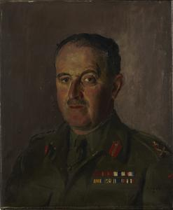Major-General H M Gale, CB, CBE, MC