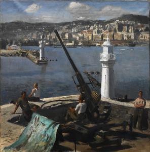 A Bofors Gun, Algiers