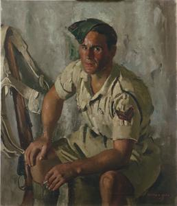Sergeant B Montague MM : One of the 'Desert Rats' (7th Armoured Division)