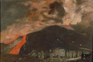 Vesuvius in Eruption, March 1944