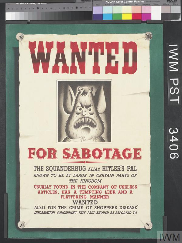 Wanted for Sabotage