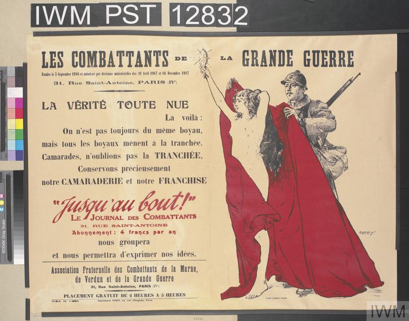 Les Combattants de la Grande Guerre [Combatants in the Great War]