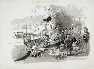 IV. Unloading Sick and Dead From Up-country Working Camps and Chungkai Base Hospital Camp