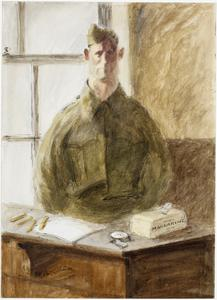 A Court-Martial : Prisoner in the witness box