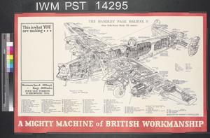 A Mighty Machine of British Workmanship - The Handley Page Halifax II