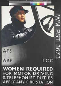 Women Required for Motor Driving and Telephonist Duties