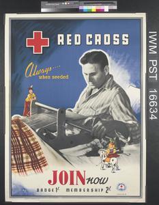 Red Cross - Always...When Needed