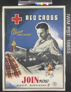Red Cross - Always...When Needed