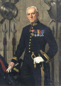 Charles ffoulkes, CB, CBE (1868-1947), First Curator and Secretary of the Imperial War Museum, in the uniform of Master of the Tower Armouries