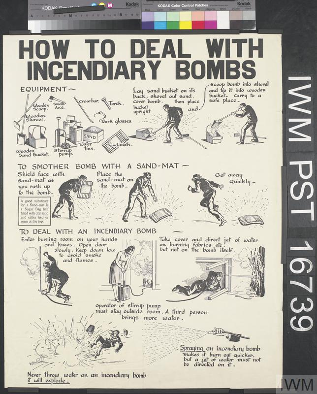 How to Deal with Incendiary Bombs
