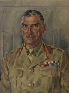 Major-General W H Oxley, CBE, MC : General Officer Commanding Troops Malta