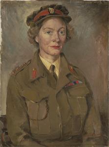 Commandant Marjorie F Wagstaffe, CBE : Deputy Director, ATS, Middle East Forces