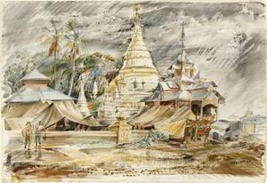 HQ Royal West Kents at Pyimbongi, Burma: The Monsoon