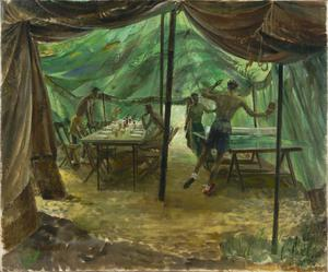 Borneo : Officers' Mess, 3/8 Gurkha Regiment