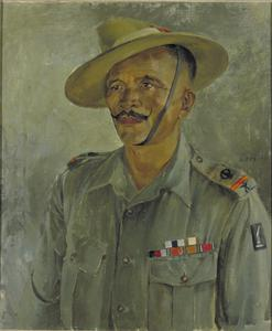Subedar-Major of the 3/8 Gurkhas