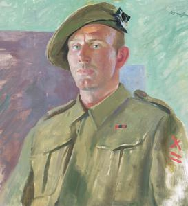 Company Sergeant-Major McLeod, DCM : Seaforth Highlanders, 51st Division