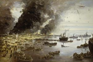 The Withdrawal from Dunkirk, June 1940