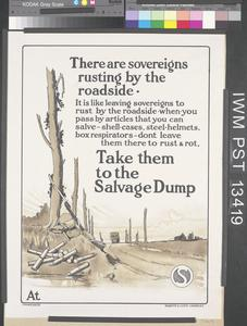 There Are Sovereigns Rusting by the Roadside - Take them to the Salvage Dump