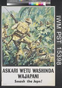 Askari Wetu Washinda Wajapani [Our Soldiers Beat the Japanese]