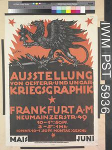 Ausstellung von Oesterr- und Ungarkriegsgraphik [Exhibition of Austrian and Hungarian War Graphics]
