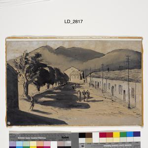 Merchant Seamen Exercising in Bone Internment Camp, Algeria