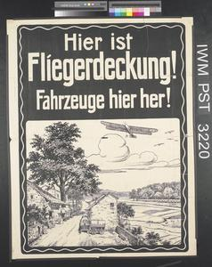 Hier ist Fliegerdeckung! [Here is Shelter from Air Raids!]