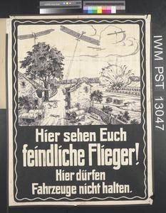 Hier Sehen Euch Feindliche Flieger! [Enemy Airmen Will See you Here!]