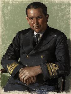 Lieutenant-Commander R Cayley DSO RN