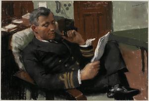 """Lieutenant-Commander E Mack, DSO, DSC, RN : """"HMS Eclipse"""""""