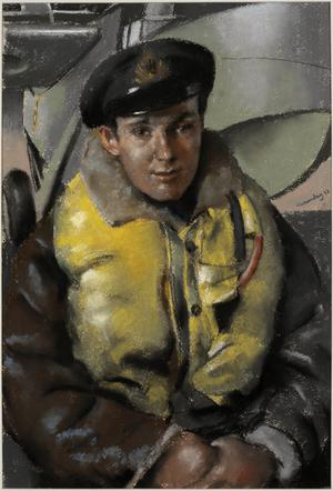 "Lieutenant (A) F Stovin-Bradford, DSC, RN : ""HMS King George V"""