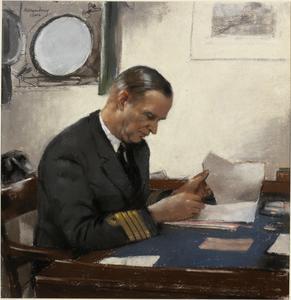 Captain E D B McCarthy : DSO and Bar, RN