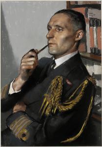 Paymaster Captain R W Piffard, RN : Secretary to Commander-in-Chief, Home Fleet