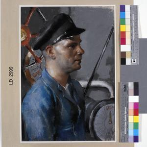 Chief Engine Room Artificer E W Burgess