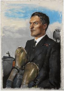 Commander P Gretton, DSO, OBE, DSC, RN