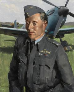 Squadron Leader C D Harris St John DFC and Bar