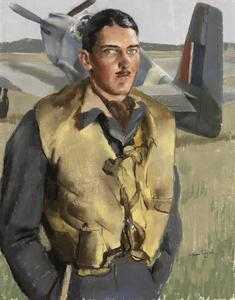 Flight Lieutenant T E D Mitchell DFC