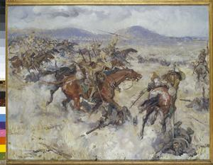 Charge of the 2nd Lancers at El Afuli : in the Valley of Armageddon, 5 am, Friday 20th September 1918