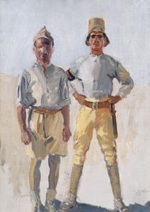 Military Policemen in Palestine, c.1918