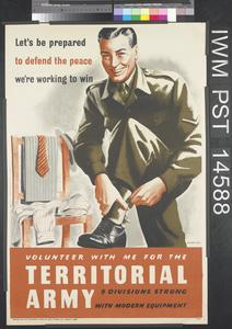 Volunteer with Me for the Territorial Army