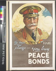 He Kept his Pledge - You Buy Peace Bonds
