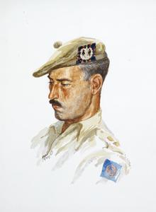 Lieutenant-Colonel N D Leslie, GSO 1 : 51st Highland Division