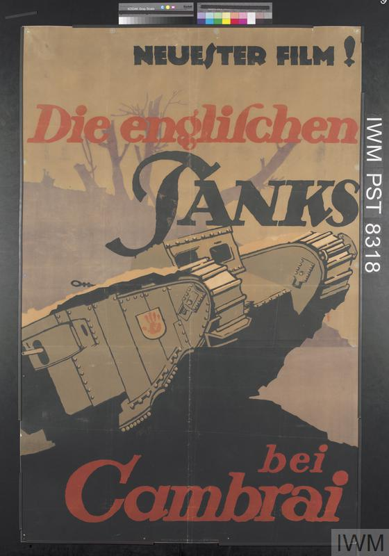 Die Englischen Tanks bei Cambrai [The English Tanks at Cambrai]